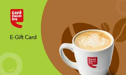 Cafe Coffee Day Gift Card