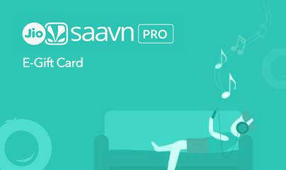 JioSaavn Gift Cards