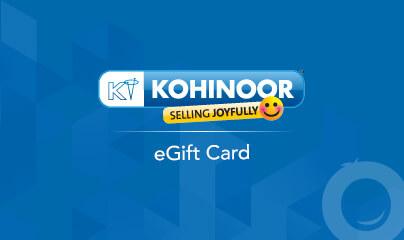 Kohinoor Televideo Gift Cards