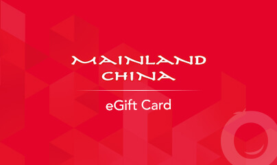 Mainland China Gift Cards