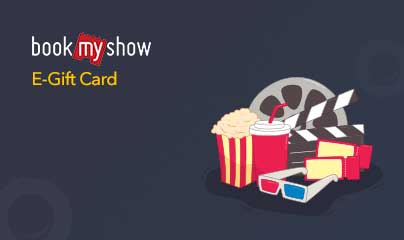 BookMyShow E-Gift Card