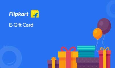 Flipkart E-Gift Card