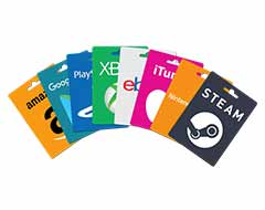 Gift Cards Coupons