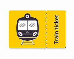 Train Tickets Coupons