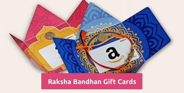 Raksha Bandhan Gift Cards