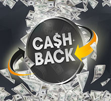 Cashback offers, coupons, and promo codes
