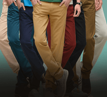 Men's Trousers and Pants