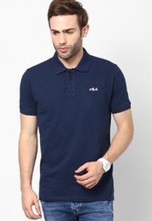 Fila Navy Blue Polo T-Shirt @ Rs 749