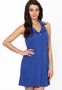 Flat 50% OFF on Vanca Blue Dress