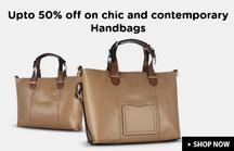 Upto 50% OFF Handbags