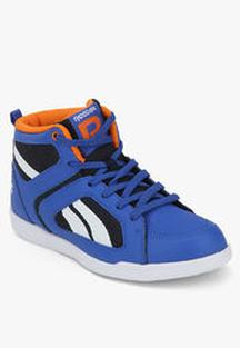 Flat 50% OFF Reebok Blue Sneakers