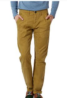 Falt 50% OFF On Brown Tout Cotton Chinos