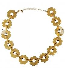 Flower Link Chain Necklace At Rs 395