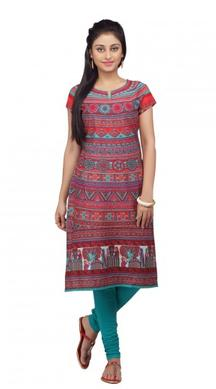 Biba Women Cotton Printed Kurta For Rs 899