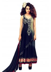 Georgette Semi Stitched Anarkali Suit @ Rs 7985