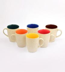 Large Coffee Mugs With Marble Finish @ 364