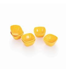 Cello Ware Veg Bowl Square 6 Pcs Yellow @ Rs 139