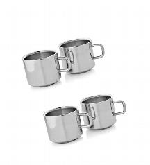 Dynamic Store Set of 2 Double Wall Tea Cups @ 325