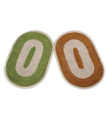Shop JBG Home Store Oval Door Mats @ just Rs 76