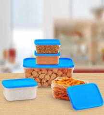 Get All Time Polka Kitchen Container 5 Pcs Set