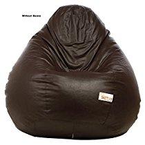 B00MHWWI0O Sattva XXXL Bean Bag without Beans (Brown)