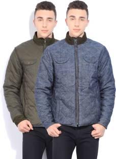 Pepe Jeans Full Sleeve Self Design Men's Jacket