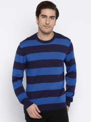 Fame Forever Striped Sweater