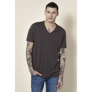 Levi's Brown Plain Round Neck T-shirt for Men