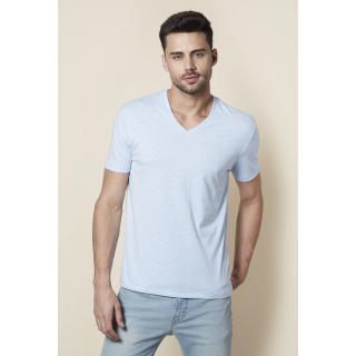 Levi's Blue Plain Round Neck T-shirt for Men