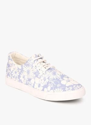 Women Foot Blue Casual Sneakers