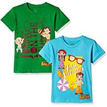 Chhota Bheem Boys T-Shirt (Pack of 2)