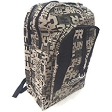Simple & Attractive Multi Pockets Black Canvas 29 Ltrs Denim Backpack