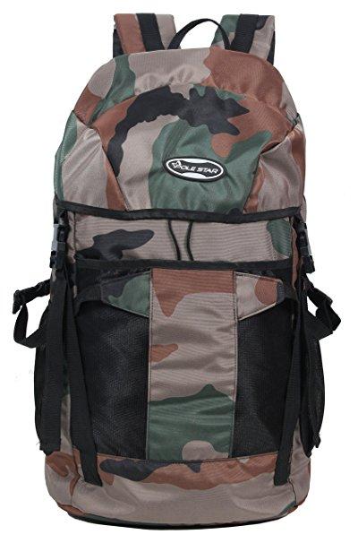 POLESTAR TREK 44 Lt camouflage/ military Rucksack/ Travel / Weekend backpack bag