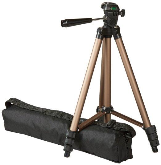 AmazonBasics 50-Inch Tripod with Bag