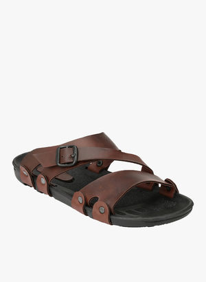 Fentacia Brown Slippers