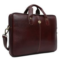 HAMMONDS FLYCATCHER Latest Design Brown Leather Office Bag