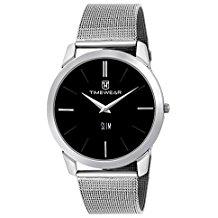 TIMEWEAR Slim Series Analog Black Dial Mens Watch
