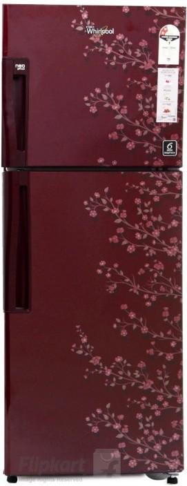 Whirlpool 245 L Frost Free Double Door 2 Star Refrigerator(Wine Gloria, NEO FR258 CLS PLUS 2S)