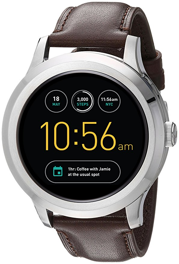 Fossil Q Founder Analog-Digital Multi-Colour Dial Mens Touchscreen Smartwatch-FTW2119