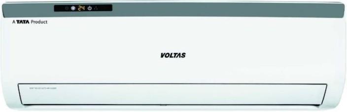 Voltas 1.5 Ton 3 Star BEE Rating 2018 Split AC - White(183CZA, Copper Condenser)