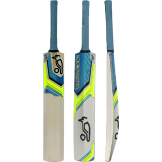 RetailWorld KB Blue Selected Popular Willow Tennis Cricket Bat