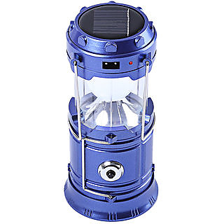 Pioneer LED Solar Rechargeable 6-9 W Torch Light/ Emergency Lamp (Colors will vary as per Availability)