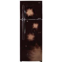 LG GL-D372JHSL 335 L Double Door Refrigerator