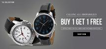 Buy 1 Get 1 Free watches