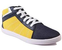 Blue & Yellow Casual Shoes For Rs 399