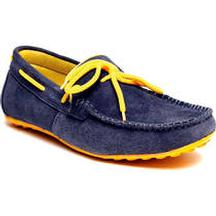 Flat 40% Discount on Bacca Bucci Navy Blue Appealing Loafers
