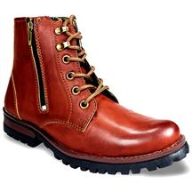 Get 60% OFF On Bacca Bucci Brown Ankle Length Boots