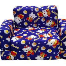 Get 32% OFF On Nonie Berzer Kids Blue Sofa Cum Bed