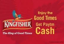 Paytm Kingfisher Offer - 20 Cashback Per Bottle