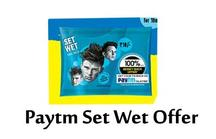 Paytm Set Wet Exclusive Offer: 100% Cashback